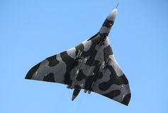 Bombardier de RAF Vulcan Photographie stock libre de droits
