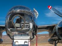 Bombardier de vintage de WW II Images libres de droits