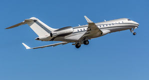 Bombardier Global 6000 private aircraft.  Royalty Free Stock Images