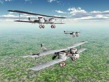 Bombardier lourd allemand Gotha Images libres de droits