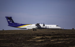 Bombardier Q400 - Air Iceland Royalty Free Stock Image