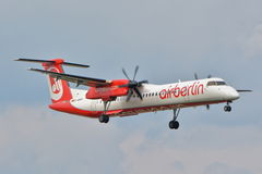 Bombardier Q400 Dash-8 Stock Photography