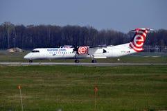 Bombardier Q400 NextGen Photos libres de droits