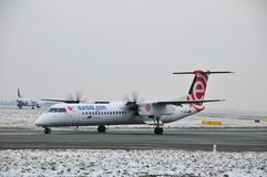 Bombardier Q400 Stock Images