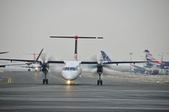 Bombardier Q400 Stock Photos