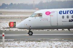 Bombardier Q400 Stock Image