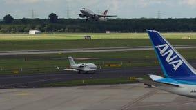 Bombardiera pretendent 605 etykietki lotnictwa UK taxiing zbiory
