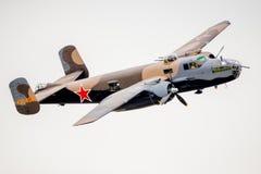 Bombardiere a Airshow Fotografia Stock