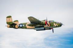 Bombardiere B-25 Immagini Stock Libere da Diritti