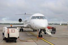 Bombardiere CRJ900 NextGen Immagini Stock