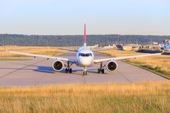 Bombardiere CS-300 Swiss Airlines Fotografia Stock