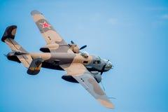 Bombardiere del U.S.A.F. di WWII Immagine Stock