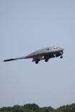 Bombardiere di azione furtiva B-2 Fotografia Stock