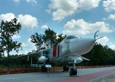 Bombardiere di prima linea Su-24 Fotografie Stock