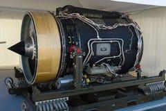 Bombardiere 5000 globali dell'aerotaxi del motore a propulsione Immagini Stock