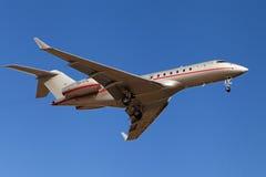 Bombardiere 5000 globali di VistaJet Malta Fotografie Stock Libere da Diritti