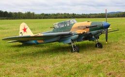 Bombardiere tattico Ilyushin Il-2 Immagini Stock Libere da Diritti