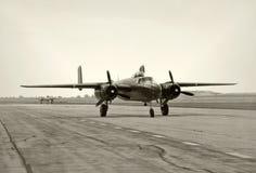 Bombardiers d'ère de la deuxième guerre mondiale images libres de droits