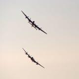 Bombardiers de Lancaster photo libre de droits