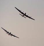 Bombardiers de Lancaster photographie stock