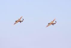 Bombardiers de Lancaster photos libres de droits