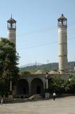 Bombardment building ruins in Nagorno Karabakh Royalty Free Stock Photography