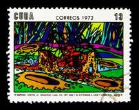 Bombardowanie od Wietnam, konferencja Przeciw wojnie w Wietnam seria około 1972, obraz royalty free