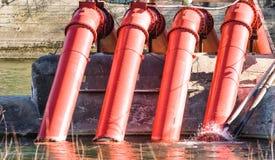 Bombas de agua Fotografía de archivo libre de regalías