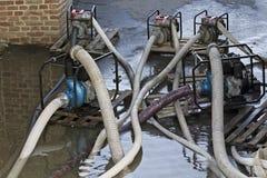 Bombas de agua Foto de archivo libre de regalías