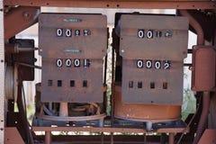 Bombas de gás velhas Imagem de Stock Royalty Free