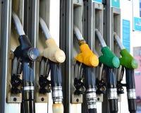 Bombas de gasolina Imagem de Stock