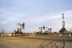 Bombas de petróleo Imagen de archivo