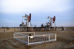 Bombas de petróleo Imagenes de archivo
