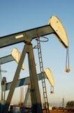 Bombas de petróleo Fotografia de Stock Royalty Free
