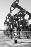 Bombas de petróleo fotos de stock royalty free