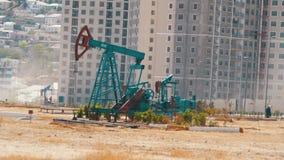 Bombas de petróleo Extração da estação de bombeamento do óleo filme