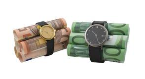 Bombas de relojería Foto de archivo libre de regalías