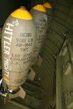 Bombas de WWII Fotografía de archivo