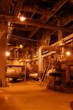 Bombas en la central eléctrica Fotografía de archivo libre de regalías