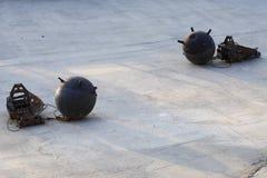Bombas marinas Imagen de archivo libre de regalías