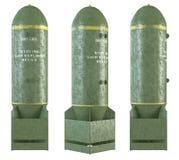 bombas viejas 3d fijadas Imágenes de archivo libres de regalías