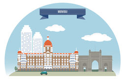 Bombay stock de ilustración