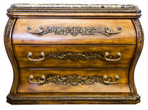 Bombay Accent Chest of Drawers. With Marble Top Stock Photos