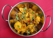 Bombay Aloo Stock Photo