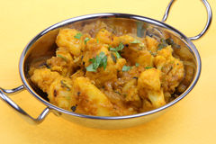 Bombay Aloo Indian Curry Royalty Free Stock Image