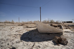 Bombay Beach Boat Stock Images
