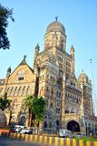 Bombay Kommunal Korporation byggnad Arkivfoto