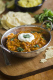 Bombay potato curry Stock Photo