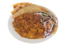 Bombay Potato Meal Royalty Free Stock Photos