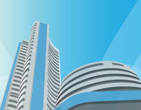 Bombay stock exchange, bombay, mumbai Royalty Free Stock Photography